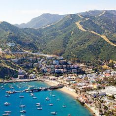Catalina—a typical port of call on California coastal cruises—is one of those rare places that has it all: the beach, sky high hikes, adventure, and of course, shopping.