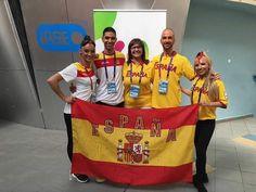En los WORLD GAMES  Con los lucenses Jandro y Magali , finalistas en la modalidad de Salsa Salsa, Sports, Tops, Sporty, Dancing, Hs Sports, Salsa Music, Sport