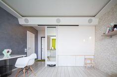 Căn hộ 42m² có thiết kế đơn giản nhưng đẹp đến khó rời mắt