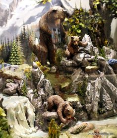 Bears chocolate sculpture tami@goseemickey.com