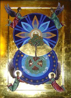 La mandorla es un símbolo cristiano antiguo