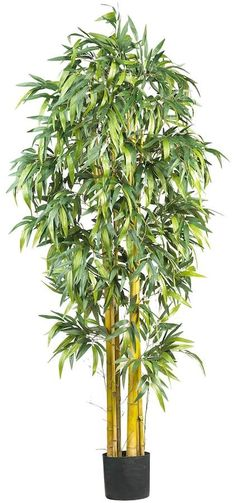 Nearly Natural nearly natural 6-ft. Silk Biggy Bamboo Tree