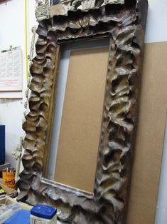 Papier mache frame idea