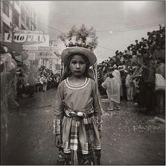Fotografía de la serie Mascaritas. Carnaval de Oruro, Bolivia, 2003. Julio Pantoja.