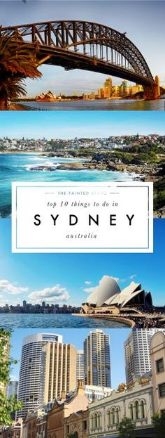 Top 10 things to do in Sydney, Australia - The Painted Globe