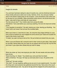 Imagine (PART ONE)for danielle! (: hope you like it :) -Bailey<< ohh my Imagines Crush, Niall Horan Imagines, Cute Imagines, One Direction Imagines, Harry Styles Imagines, Louis And Eleanor, Harry Styles Smile, 1d And 5sos, Marry You