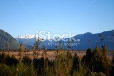 West Coast Landscape, Lake Brunner, New Zealand Royalty Free Stock Photo
