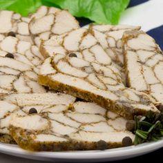 Ruladă marmorată din piept de pui – se pregătește simplu și are un aspect de efect! - savuros.info Camembert Cheese, Food, Home, Essen, Meals, Yemek, Eten