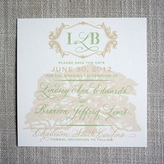 Angel Oak Save the Date by ScottiClineDesigns on Etsy, $50.00