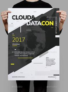 Datacon Corporate Poster Fyer — Photoshop PSD #startup #start-up • Download ➝ https://graphicriver.net/item/datacon-corporate-poster-fyer/20408153?ref=pxcr
