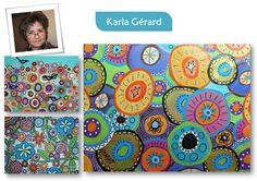Art For Kids, Crafts For Kids, Karla Gerard, Ecole Art, Kandinsky, Art Plastique, Montessori, Mandala, My Arts