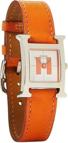 Hermes Orange, Orange Crush, Donna Karan, Birkin, Crocodile, Saddle Bags, Watches, Medium, My Style