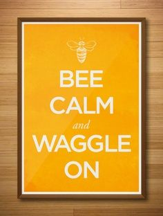 Waggle Dance - only bees do it