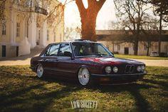 BMW E28, Stance, Airride