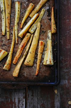 Baked Rosemary Parsnip Fries Recipe