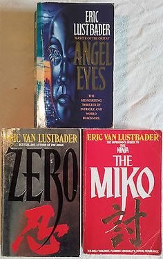 3 x eric van lustbader #paperback books: angel #eyes, #zero, the miko  grafton,  View more on the LINK: http://www.zeppy.io/product/gb/2/222183412483/