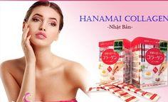 Hanamai collagen heo hộp 30 gói, 1,5g/ gói chiết xuất trực tiếp từ bì lợn, được sản xuất theo dây chuyền công nghệ hiện đại của Nhật Bản duy trì độ đàn hồi, căng mịn, nuôi dưỡng và duy trì sự trẻ đẹp của làn da sau tuổi 30.