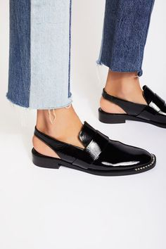 Tendance Chaussures 2017/ 2018 : Abbey Road Slingback | Refined leather loafers with a modern. femme update featu