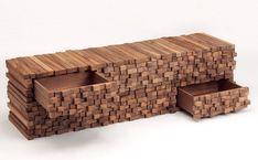 woodenheap walnut cabinets by boris dennler