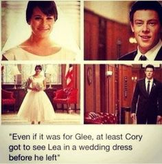 Image result for cory monteith and lea michele quotes