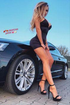 Classy Women, Sexy Women, Tumbrl Girls, Sexy Legs And Heels, Car Girls, Sexy Cars, Beautiful Legs, Pin Up, Fit Women