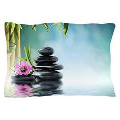 Zen Reflection Pillow Case on CafePress.com