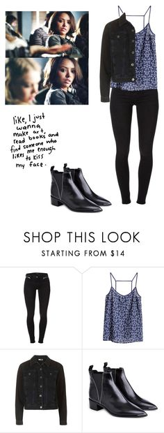 """Bonnie bennett inspired outfit - tvd"" by shadyannon ❤ liked on Polyvore featuring J Brand, H&M and Acne Studios"