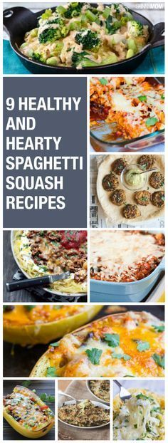 Try one of these delicious and low-cal spaghetti squash recipes.