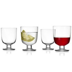 Lempi glas klar 4 stk - 4 stk - Iittala