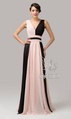 çift renkli Uzun abiye elbise askılı empire bel modeli abiye elbise,kısa abiyeler,uzun abiye,online abiye,ucuz abiye