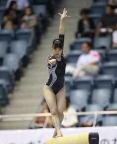 no title Gymnastics Pictures, Women's Gymnastics, Female Gymnast, Female Athletes, Leotards, One Piece, Sports, Swimwear, Naver