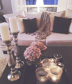 home decor tips Top 50 Prettiest amp; Most Inspiring Home Decor Diy Home Decor Rustic, Easy Home Decor, Cheap Home Decor, Modern Decor, Romantic Home Decor, Romantic Night, Contemporary Decor, Cozy Apartment Decor, Apartment Living