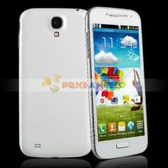 BML i9505 Quad Band Smartphone Android 4.1.2 Spreadtrum SP6820 Dual SIM Dual Standby FM/Wi-Fi/5 Inch Capacitive Touch Screen(White)