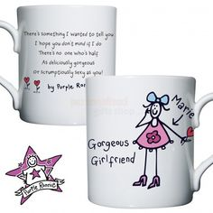 Personalised Purple Ronnie Girlfriend Mug  from Personalised Gifts Shop - ONLY £12.95