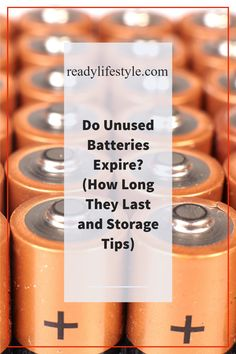 #Prepping #Homesteading #Preparedness If you buy a set of batteries, you may sometimes wonder if you should buy the bigger package. After all, you may not be able to use all of them in time, especially if they have an expiration date. It makes sense, then, to wonder if batteries can go bad when you are not using them. Yes, unused batteries do go bad, meaning that they lose their cha...