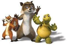Over the Hedge (2006) ~~ Animation | Adventure | Comedy ~~ A scheming raccoon fools a mismatched family of forest creatures into helping him repay a debt of food, by invading the new suburban sprawl that popped up while they were hibernating...and learns a lesson about family himself.