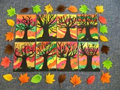 Bilderesultat for winterknutsels bovenbouw Fall Arts And Crafts, Autumn Crafts, Fall Crafts For Kids, Autumn Art, Art For Kids, Autumn Activities For Kids, Art Activities, Fall Art Projects, Leaf Crafts