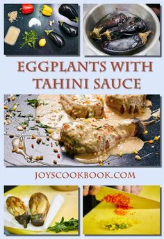 Eggplants with Tahini sauce Hatsil with Tahini sauce is a tasty Jewish appetizer which is backed eggplants with sauce of sesame. This meal is not hard to be cooked.