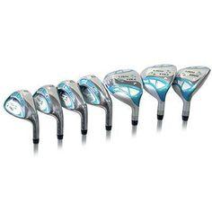 Tour Edge Golf - Lrh 2015 Le Whtteal Combo Set