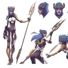 "My character study of Proxima Midnight. Warrior of Black Order of Thanos from ""Avengers - Infinity War"" Thanos Marvel, Marvel Villains, Marvel Art, Marvel Comics, Proxima Midnight, Scarlet Witch Marvel, Art Basics, Black Order, Manga Games"