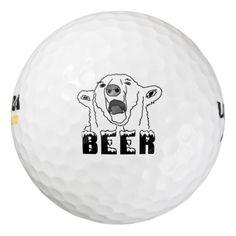 Polar Bear Golf Balls