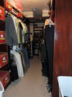 Purging Your Closet in Four Easy Steps.