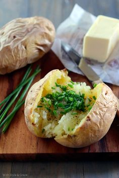 Simple Baked Potatoes