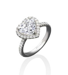Boodles Heart Shaped Engagement Ring