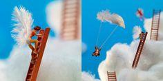 """Arte en miniatura """"El cielo y miniaturas"""""""