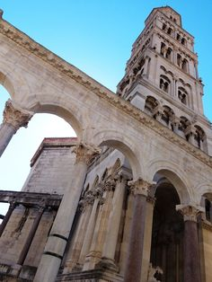 Palace of Diocletian, Split, Croatia - a UNESCO World Heritage site