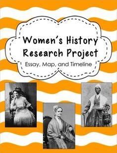 Women's History Class. Stuck on essay question...?