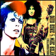 rock rare collection fetish: DAVID BOWIE & MARC BOLAN - Collaborations