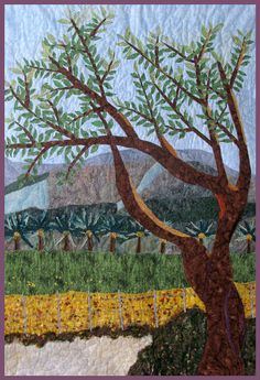 Decorative Landscape Wall Hanging Quilt Art Holy by cindyrquilts, $3000.00
