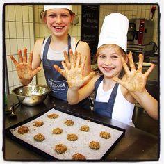 Lekkere vieze handen! #kinderfeestje #koekjes #biologisch